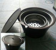 bếp nướng than âm bàn