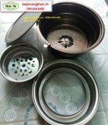 bếp nướng than âm bàn HT01
