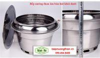 Bếp Nướng Than Âm Bàn Hút Dưới HD01