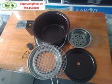 Bếp lẩu nướng than hoa - BA 01