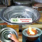 Bếp lẩu nướng than không khói