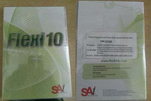 Đĩa phần mềm Flexi 10