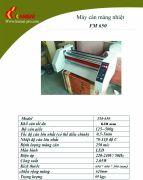 máy cán màng tự động FM 650