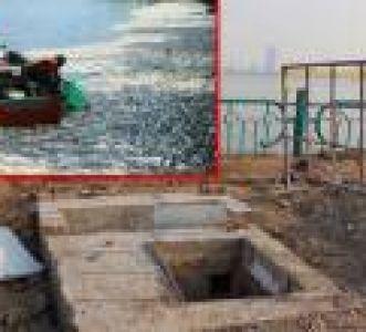 30 cống nước ô nhiễm nặng xả xuống hồ Tây: Đầu độc thế này bảo sao cá chết ?!