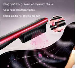 lược điện duỗi tóc Kingdom KD388
