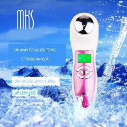 Máy chăm sóc da mặt nóng lạnh, ION âm (-)  MKS