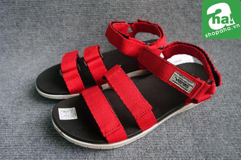 Sandal Vento Đen Đỏ SV05