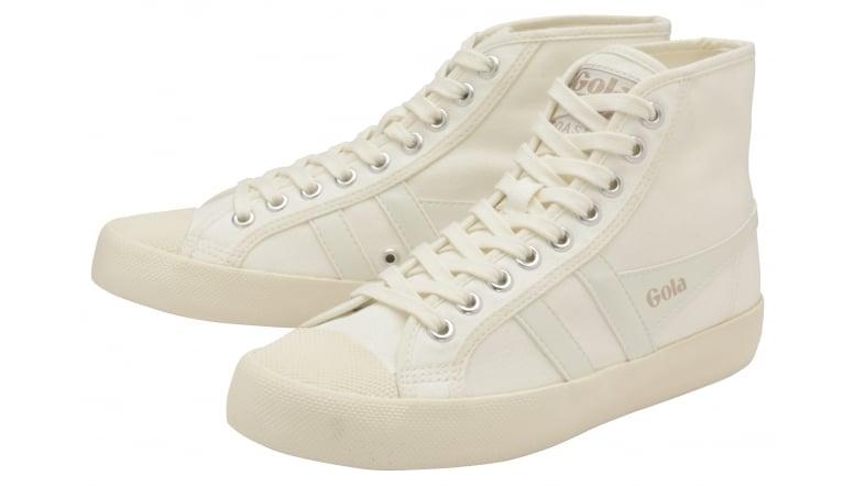 giày gola trắng cổ cao CC012