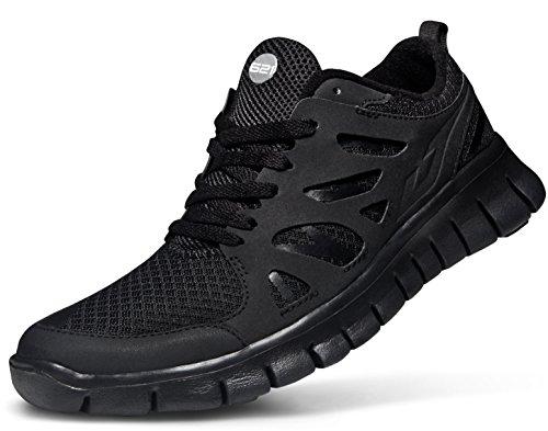giày tesla đen TLX015