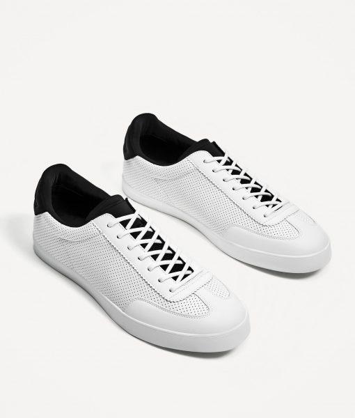 Giày Big Size ZARA Trắng Chính Hãng Size 45,46,47,48