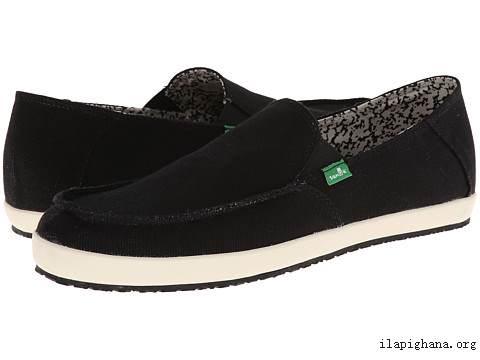 Giày Sneakers XỎ Big Size SANUK USA Đen