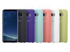 Ốp lưng silicone màu Galaxy S8 chính hãng