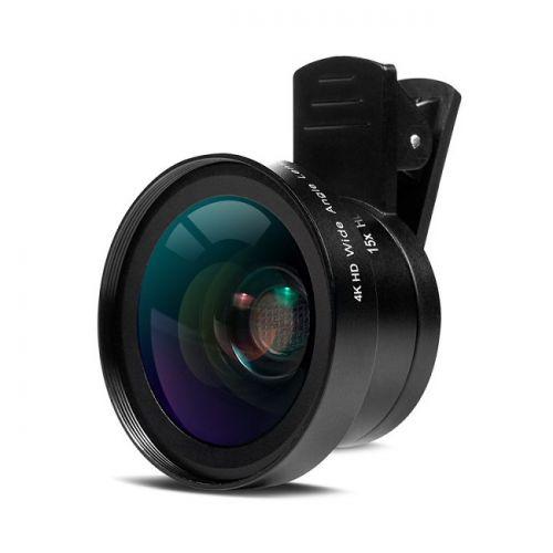 Ống kính chụp hình 2 trong 1 Macro và Lens góc rộng không thể thiếu cho điện thoại