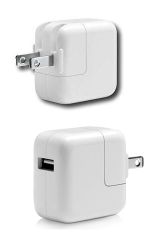 Sạc original iPad/iPad 2/3/4 10W-12W USB power adapter chính hãng Apple