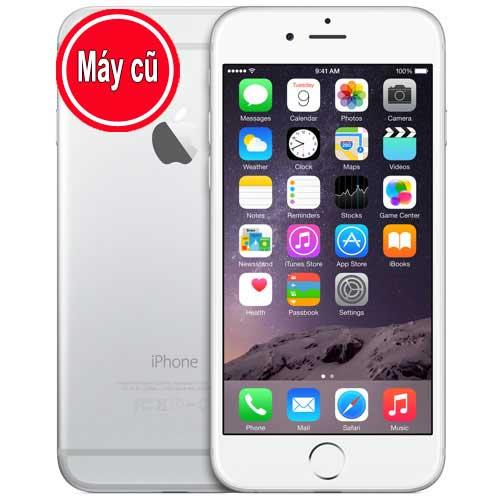 IPhone 6 Plus 64GB Màu Trắng Silver Quốc Tế (Máy Cũ 98% Zin Nguyên Bản)