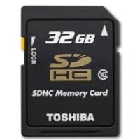 SDHC 32GB Toshiba Class 10 48mb/s
