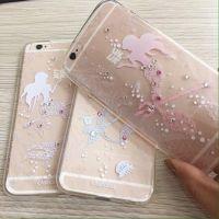 Ốp Lưng TPU dẻo mềm Casecube iPhone 6/6S - 6 Plus/6s Plus (TPU Tiên Cá)