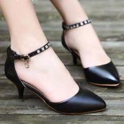 Giày cao gót Quai Đá Sang Trọng