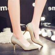 Giày cao gót kim tuyết 7 phân mũi nhọn hàng nhập