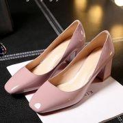 Giày cao gót mũi vuông cao cấp