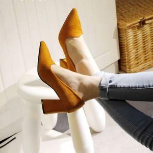 Giày bít gót vuông hàng xịn