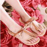 Sandal nơ 2 dây trẻ trung năng động