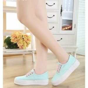 Giày nữ đế dày phong cách Hàn
