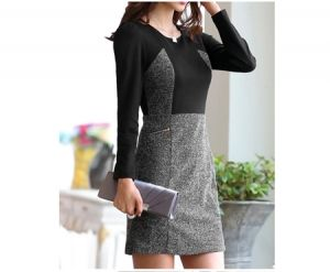Đầm công sở cao cấp Grey