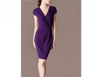 Đầm công sở cao cấp Purple cao cấp