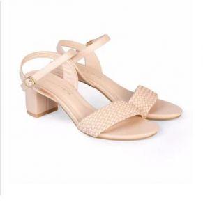 Giày sandal cao gót vuông 5cm