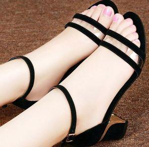 Giày cao gót quai ngang trong cao Cấp