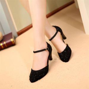 Giày cao gót cao cấp đính hạt xoàn