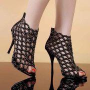Giày đính đá cao cấp