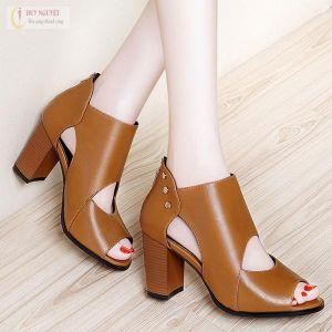 Giày Bot Da Cao Cấp