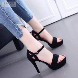 Giày Cao Gót Khoét Hông Thời Trang