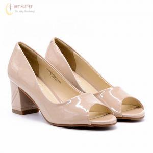 Giày cao gót hở mũi 2017