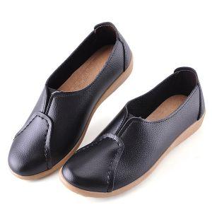 Giày mọi da đế mềm