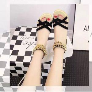 Giày sandal công chúa hồng