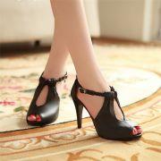Giày cao gót tết sam cao cấp