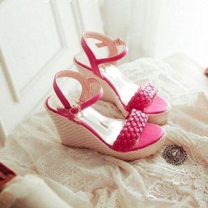 Giày sandal đế xuồng tết sam