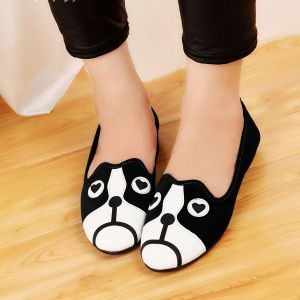 Giày Búp Bê Hình Chó Mèo