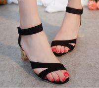 Giày cao gót quai dán