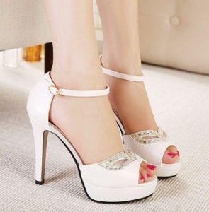 Giày cao gót mắt đá thời trang