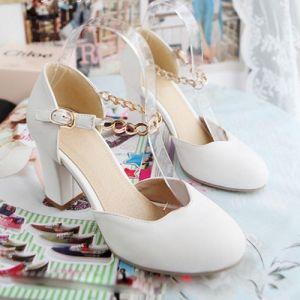 Giày gót vuông cao cấp