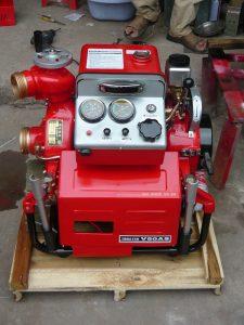 máy bơm chữa cháy xăng tại nghệ an