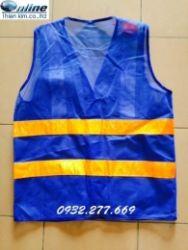 Áo phản quang lưới - Màu xanh dương