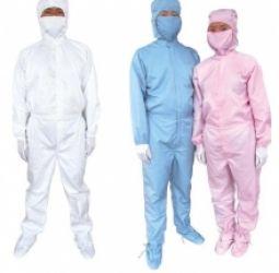 Quần áo phòng sạch chống tĩnh điện áo liền quần
