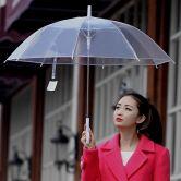 Ô dù cầm tay trong suốt giá rẻ tại Hà Nội