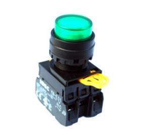 Nút nhấn có đèn xanh 220V