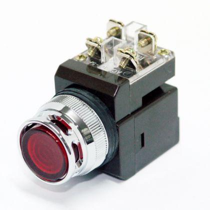 Nút nhấn có đèn xanh Ø25